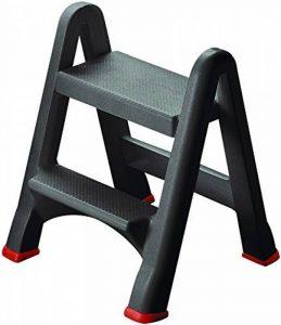 Curver 08605-155 Escabeau Polyester Gris 17 x 49 x 63 cm de la marque Curver image 0 produit
