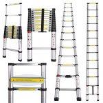 Echelle téléscopique aluminium 3.80 m : trouver les meilleurs modèles TOP 2 image 1 produit