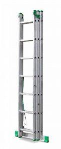 Echelle transformable aluminium; 3 plans et autostable de la marque Echelle Direct image 0 produit