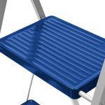 Escabeau échelle marchepied pliant - 3 marches - max. 150kg de la marque Deuba image 2 produit