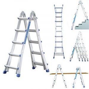 Escabeau télescopique escalier, votre comparatif TOP 1 image 0 produit