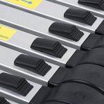 Finether Échelle Télescopique Aluminium Portable 3,2M Multi-Fonction, EN131 Certifié, 11 Echelons , 150 Kg Capacité de la marque Finether image 4 produit