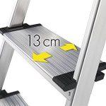 Hailo 8030-601 Comfort Line Escabeau XXR 6 marches de la marque Hailo image 4 produit