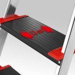 Hailo 8893001 ChampionsLine Échelle des Ménages Multifonction Aluminium avec 3 Étapes XXL de la marque Hailo image 2 produit