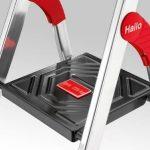 Hailo 8893001 ChampionsLine Échelle des Ménages Multifonction Aluminium avec 3 Étapes XXL de la marque Hailo image 4 produit