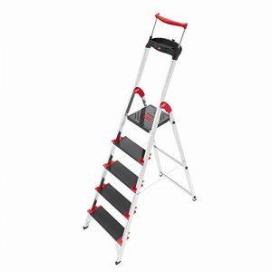 Hailo XXR 225 ChampionsLine Escabeau Charge maximale 225 kg 5 échelons de la marque Hailo image 0 produit