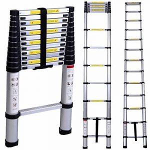 Lifewit Échelle Télescopique Extensible en Aluminium 3,8m Multifonctionnel Capacité de 150kg de la marque Lifewit image 0 produit