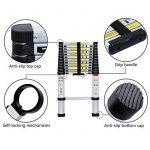 Lifewit Échelle Télescopique Extensible en Aluminium 3,8m Multifonctionnel Capacité de 150kg de la marque Lifewit image 3 produit