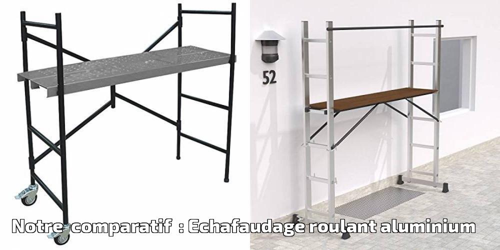 Hailo Echafaudage Aluminium 150 kg 9474-901